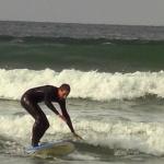 Surfing in Tofino, Kanada