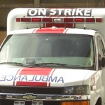 Sanitäter im Streik